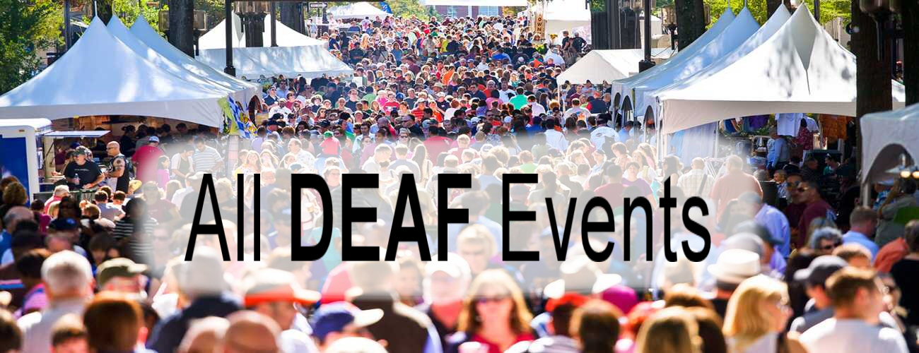 All Deaf Events